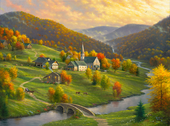 Peace in the Valley by Abraham Hunter