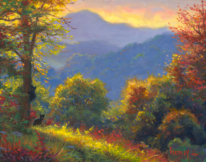 Mark Keathley Evening Light