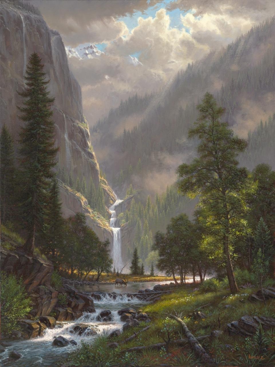 Highland Song By Mark Keathley 187 Infinity Fine Art