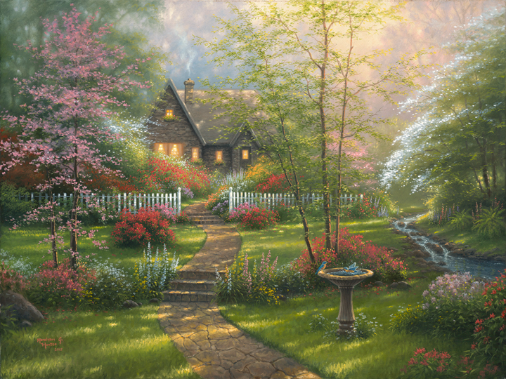 Superb Dogwood Cottage #1: Dogwood Cottage By Abraham Hunter