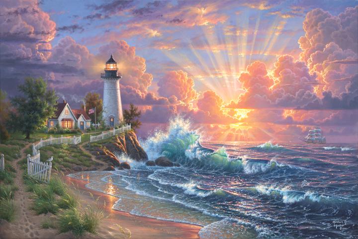 Light of Hope by Abraham Hunter