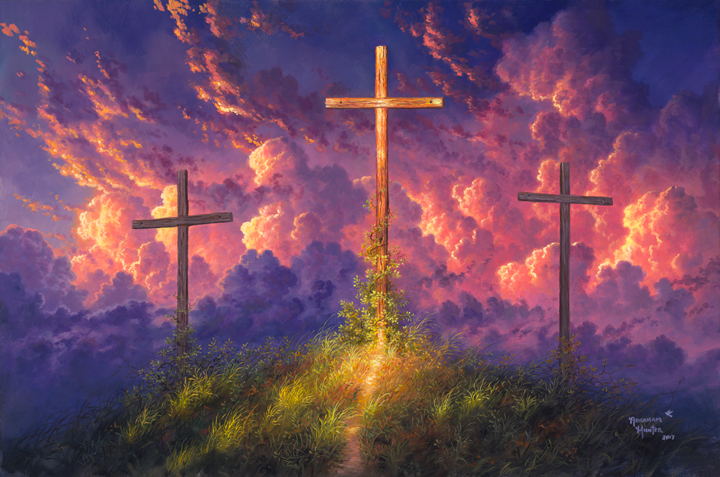 Old Rugged Cross By Abraham Hunter