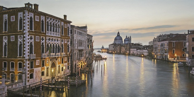 Morning on the Grand Canal by Rod Chase