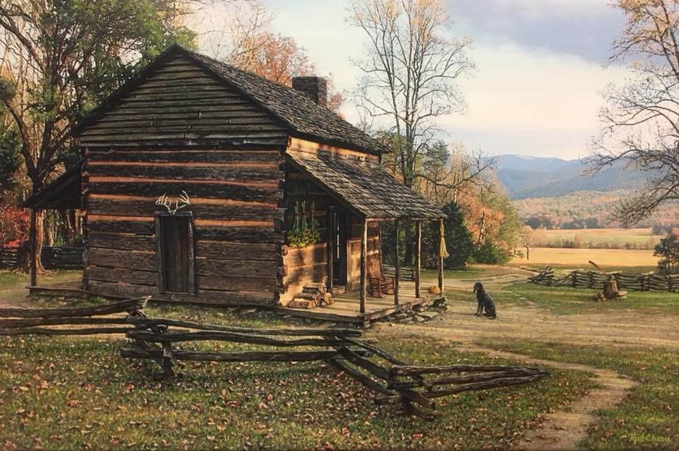 Autumn in cades cove by rod chase infinity fine art for God s gift cabin gatlinburg